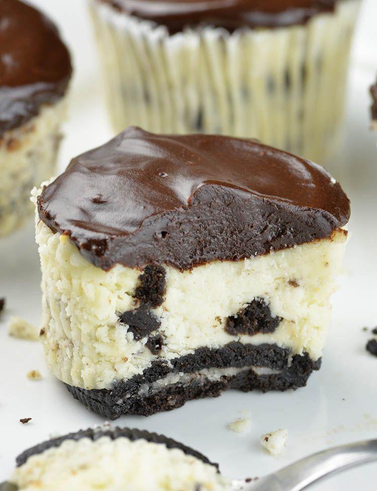Mini Oreo Cheesecake Recipe Yum Pinterest Oreo Cheesecake