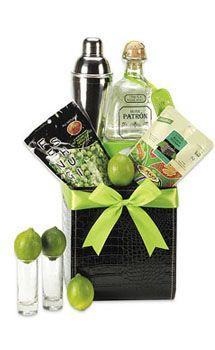 Shake It Up Patron Tequila Gift Basket