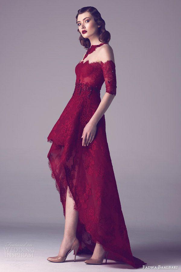 Fadwa Baalbaki Spring 2015 Couture Collection | Vestiditos, Alta ...