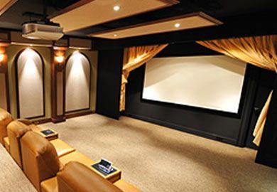 CinemaShop CineCurtain™ Custom Home Theater Curtains