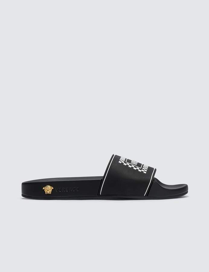 fc0ba3e50a99 ShopStyle Collective   Shoes   Versace logo, Socks, Shoes