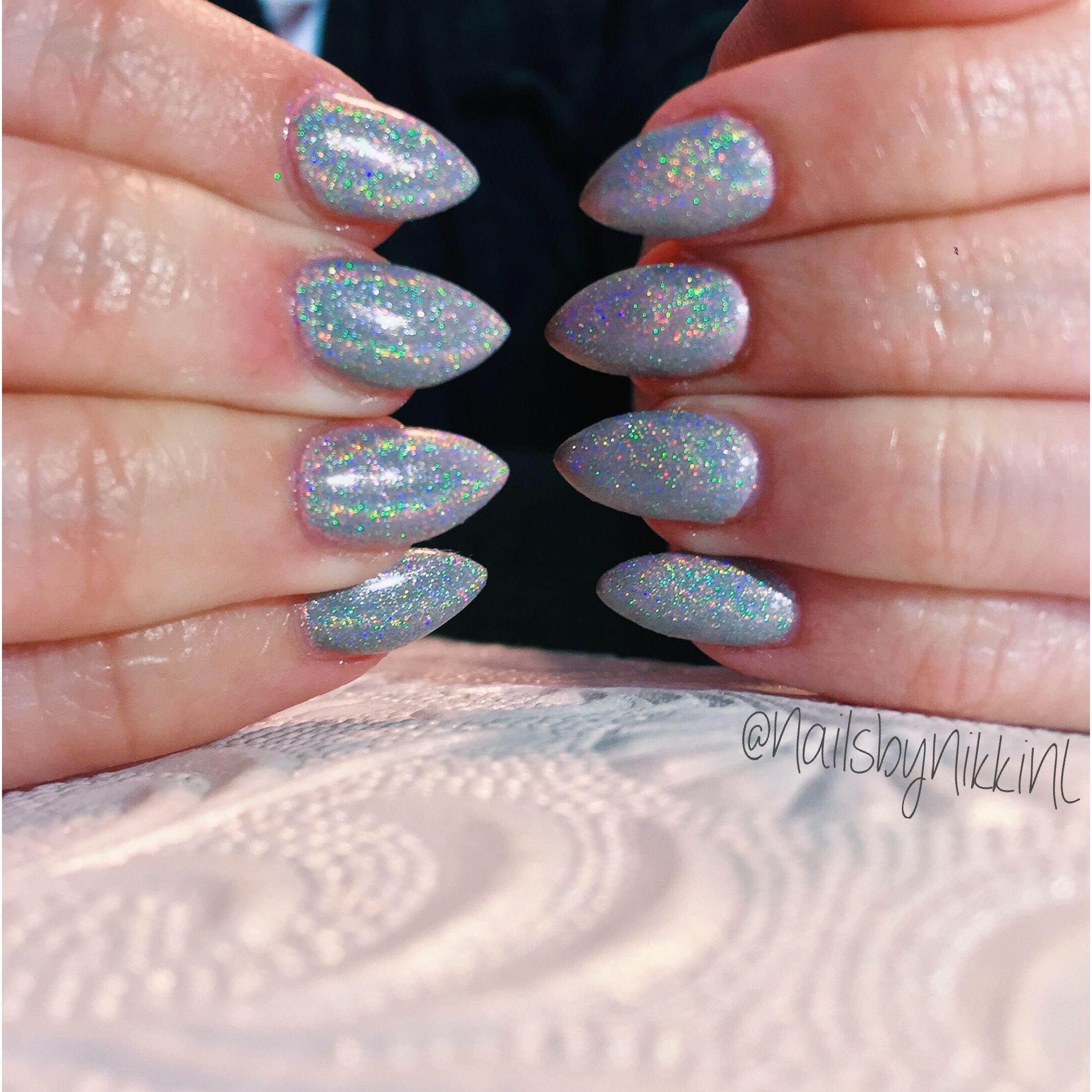 The Holographic Nail bandwagon is definitely worth jumping on. LCN ...