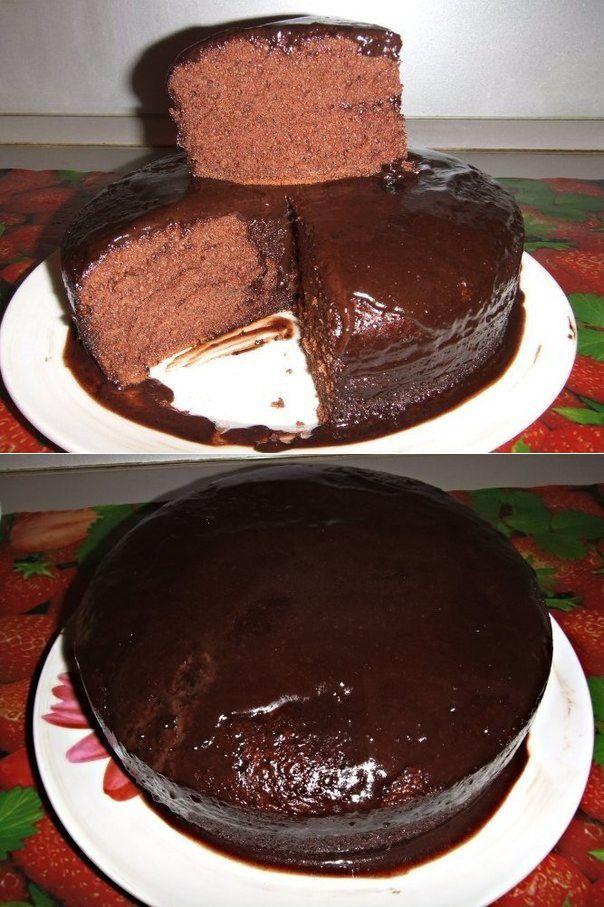 торт шоколадное кухэ рецепт с фото было