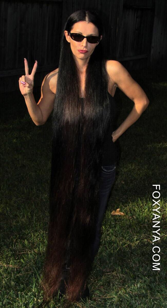 Foxy Anya | ULTRA LONG, LONG HAIR & RAPUNZELS | Long hair ...