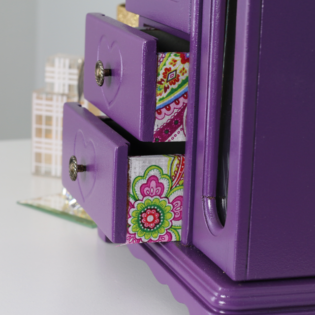 Becoming Fab Choose To Be Fab Jewelry Box Makeover Jewelry Box Makeover Jewelry Box Diy Painted Jewelry Boxes