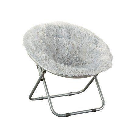Marvelous Mainstays Kids Blair Plush Saucer Chair Multiple Colors Forskolin Free Trial Chair Design Images Forskolin Free Trialorg