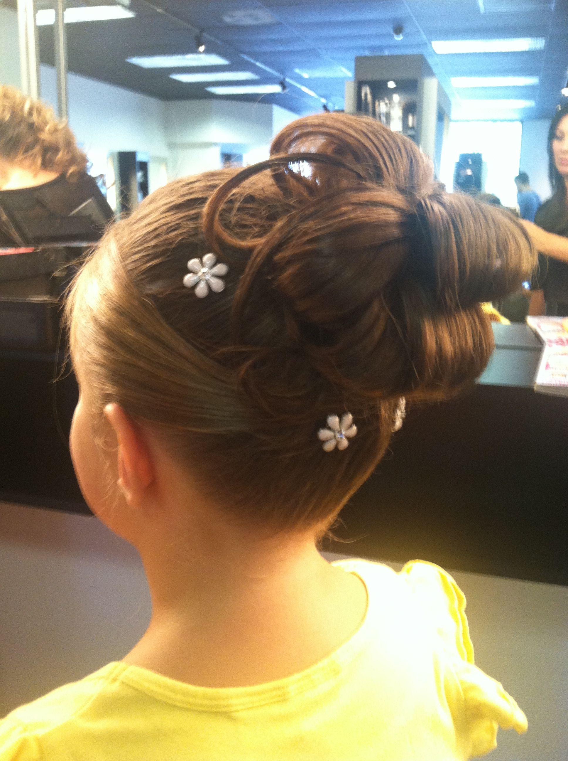 Flower Girl Updo Hair Styles Girl Hairstyles Girls Updo