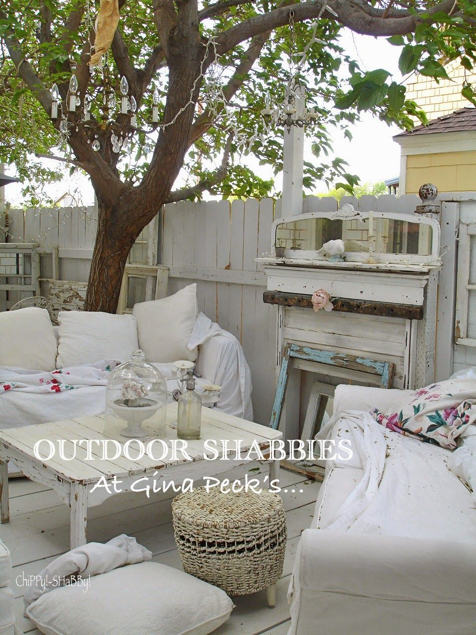 Shabby Chic Patio Cottage