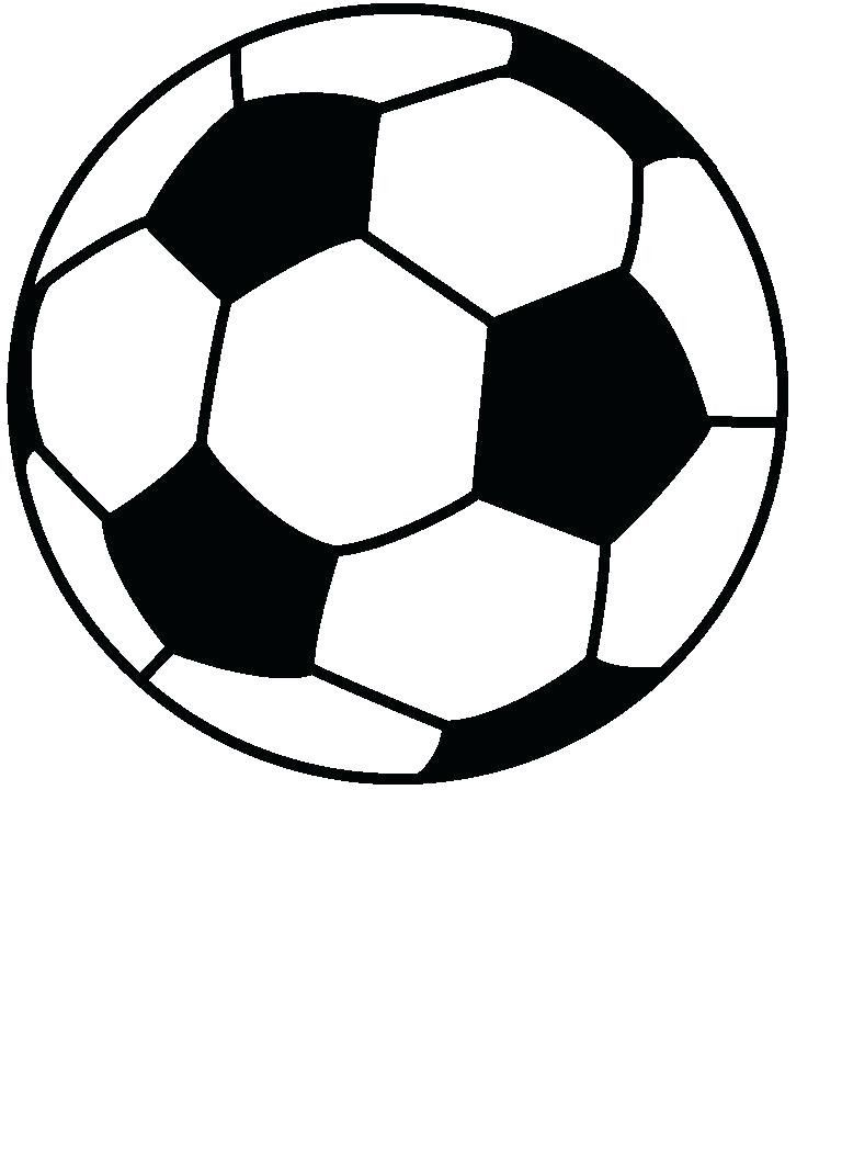Big Soccer Ball Coloring Pages Printable Coloring Page For Kids Free Clip Art Soccer Ball Ball Drawing