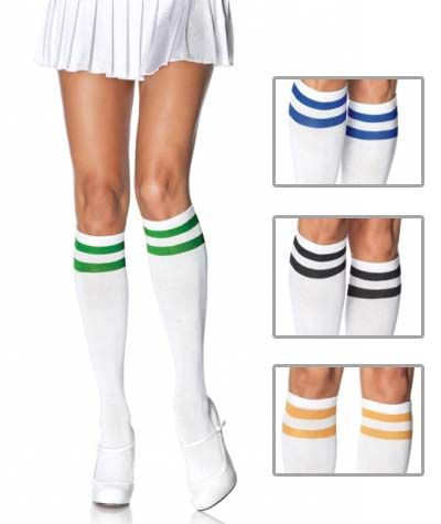 d76dcd38e58 Retro knee socks... I think they d be cute with boots or converses.