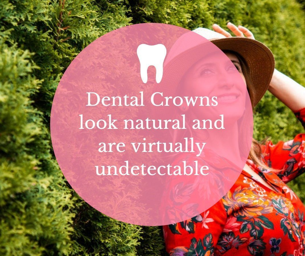 Cautious dental crowns before and after teeth