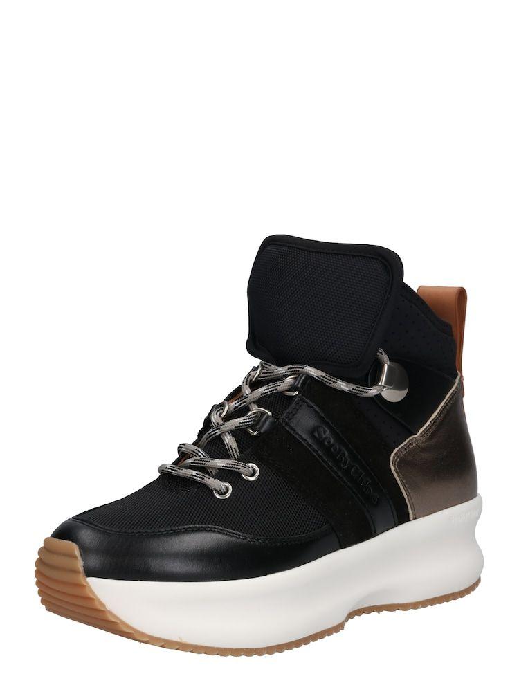 See By Chloé Sneaker 'SB32211A' Damen, Bronze / Schwarz, Größe 39 #seebychloe