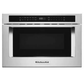 Kitchenaid Kmbd104gss Stainless Steel 24 Inch Wide 1 2 Cu Ft 950 Watt Built In Microwave Drawer With Sensor Cooking Technology In 2020 Microwave Drawer Built In Microwave Under Counter Microwave