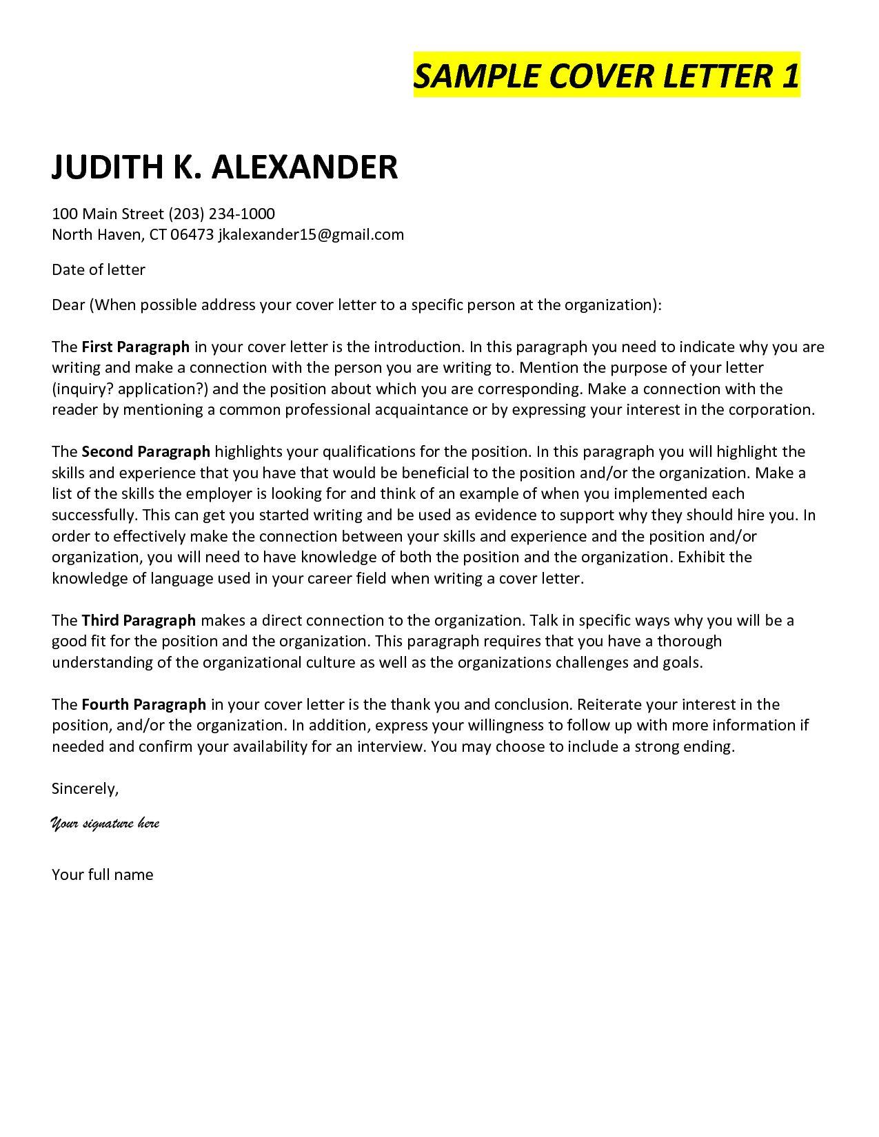 25 Cover Letter Ending Cover Letter Cover Letter For Resume
