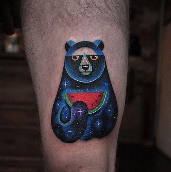 45 Mesmerizing Surreal Tattoos That Are Wonderful: David Côté's Beautifully Surreal Tattoos