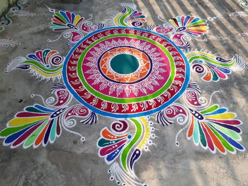 Rangoli Photo and Designs for Diwali 2018 Home Makeover