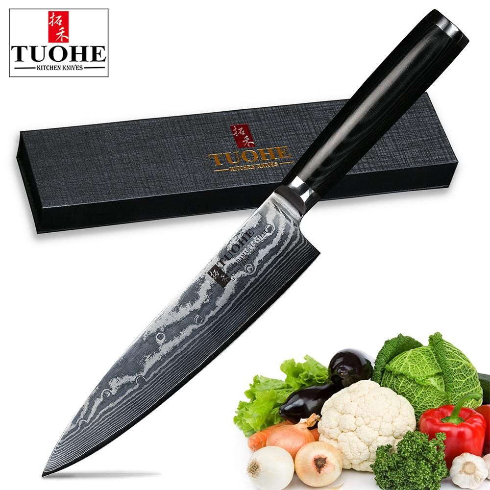 Vg10 33 Layer Damascus Hammered Nakiri Japanese Chef Knife Kitchen Knives Damascus Steel Kitchen Knives Knife Set Kitchen