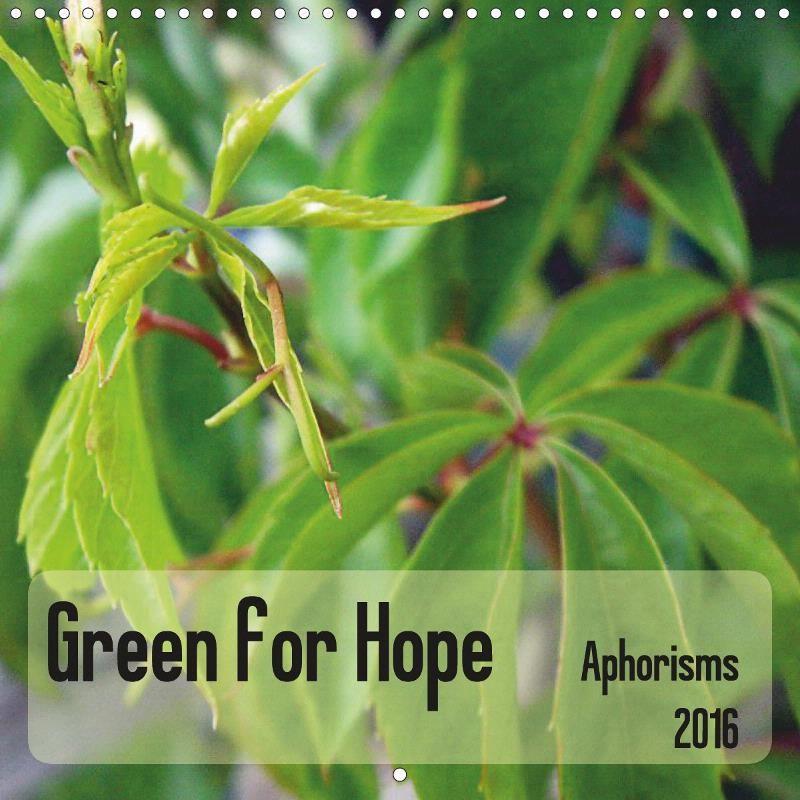 Green for Hope - CALVENDO
