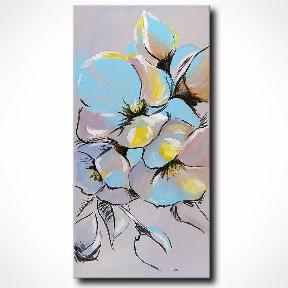 Kunst Gemälde Modern novaarte gemälde abstrakt acryl bilder modern kunst leinwand bild