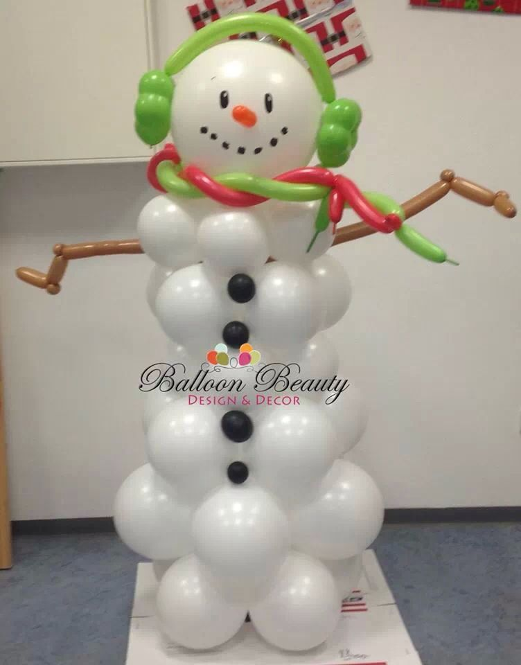 1000 images about christmas balloon decor on pinterest