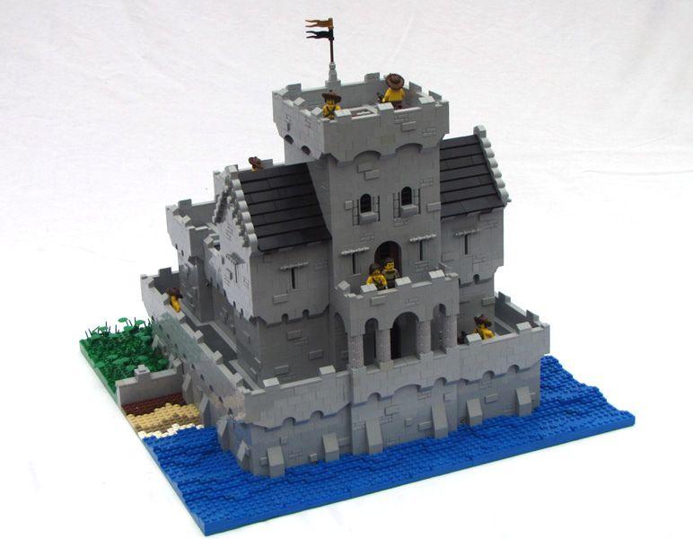 Minecraft Blueprints · Lego Building · SeashoreCastle4