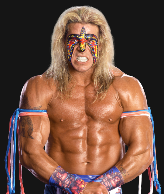 Ultimate Warrior Ultimate Warrior Wwf Superstars Wrestling Superstars
