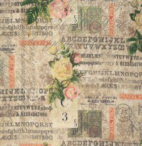 Eclectic Elements - Wallflower Swatch Gallery von Bachpiraten auf DaWanda.com