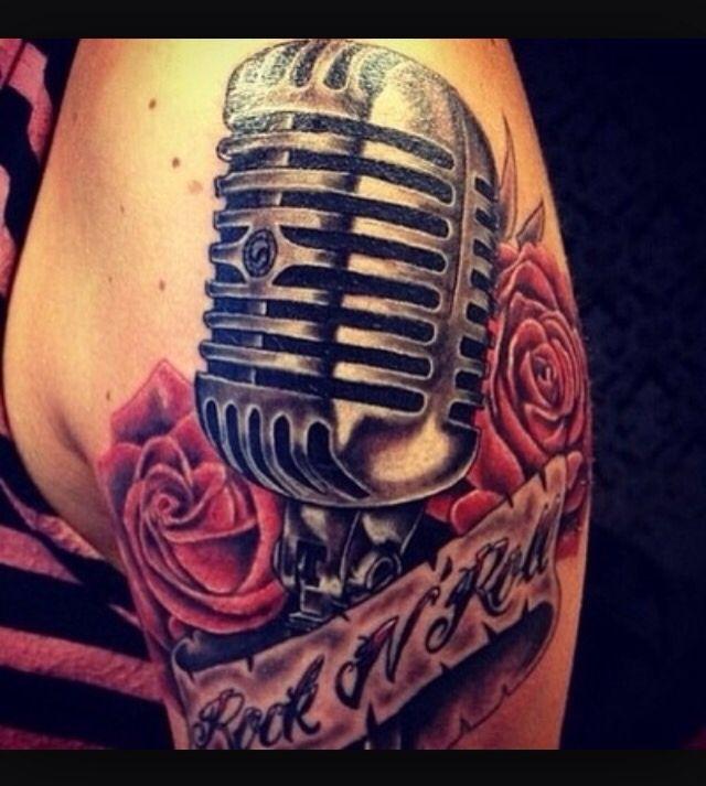 Rockabilly tattoo music | *Tattoos* | Tatuering och Rockabilly