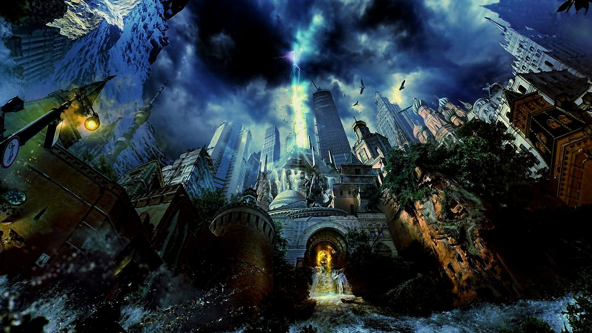 Fantasy City Wallpaper Hd: Hd Fantasy Wallpapers 1080p