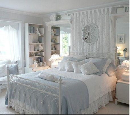 White Shabby Chic Bedroom My Shabby Chic Decor Chic Bedroom