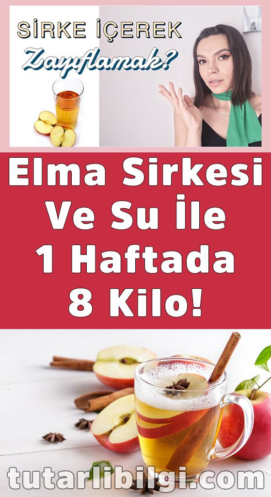 Photo of Elma Sirkesi Ve Su İle 1 Haftada 8 Kilo Verin!