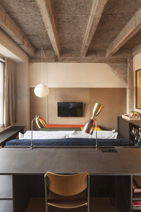 Ace hotel   by its in house design team and commune also industrial chic rh pinterest