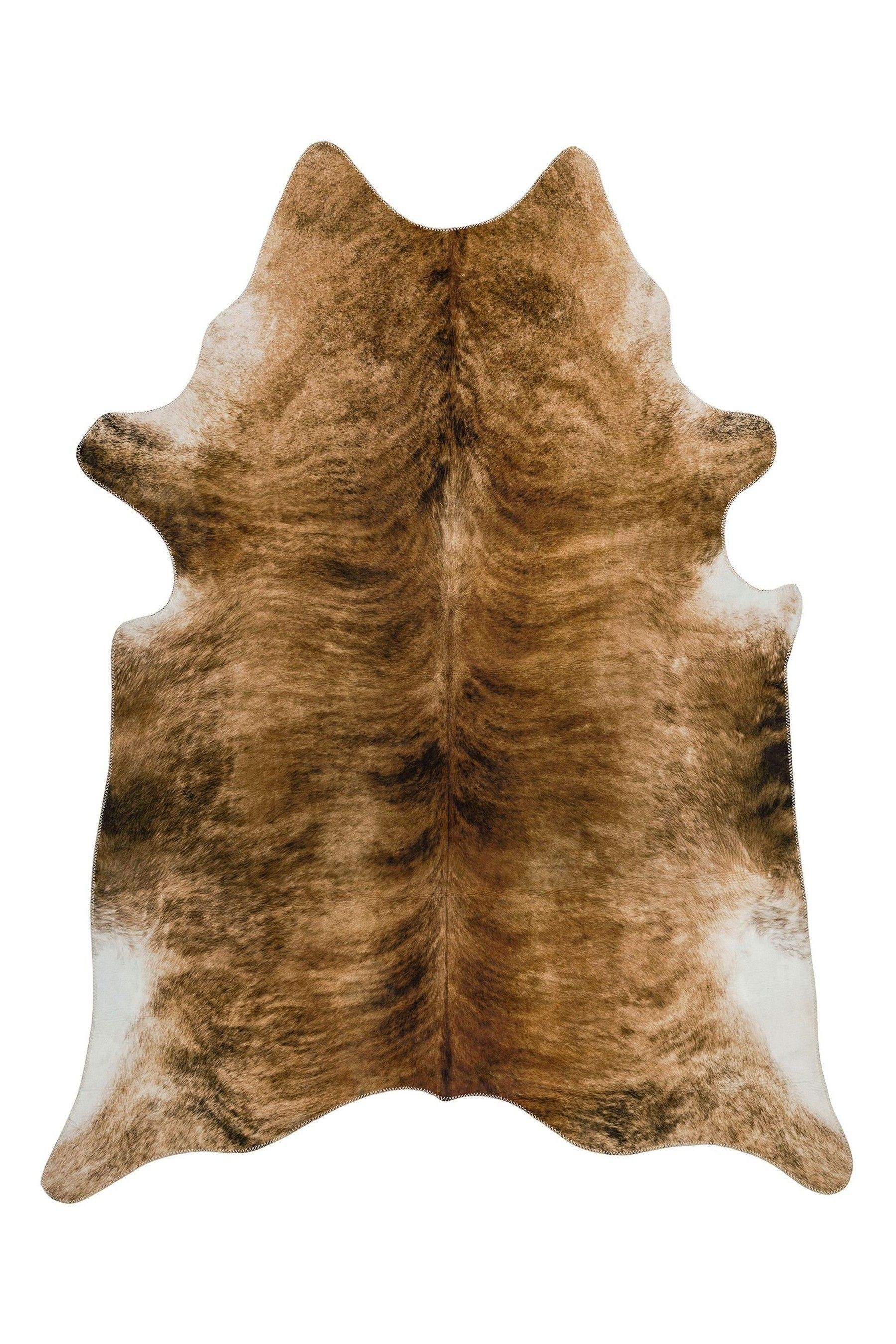 Texas Faux Cowhide Rug By Asiatic Rugs
