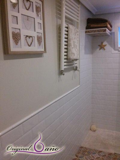 Ideas de decoracion de ba os vintage paredes pintadas y - Paredes pintadas originales ...