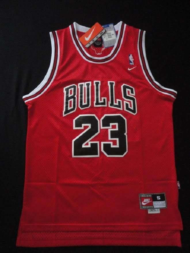46d594669c9e  Chicago Bulls Michael Jordan Nike Throwback  23  NBA Jersey Red Nwt Adult  Xlarge from  34.99