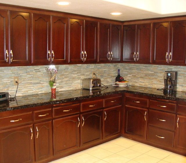 Superior Staining Kitchen Cabinets | YaleTownGallery.com