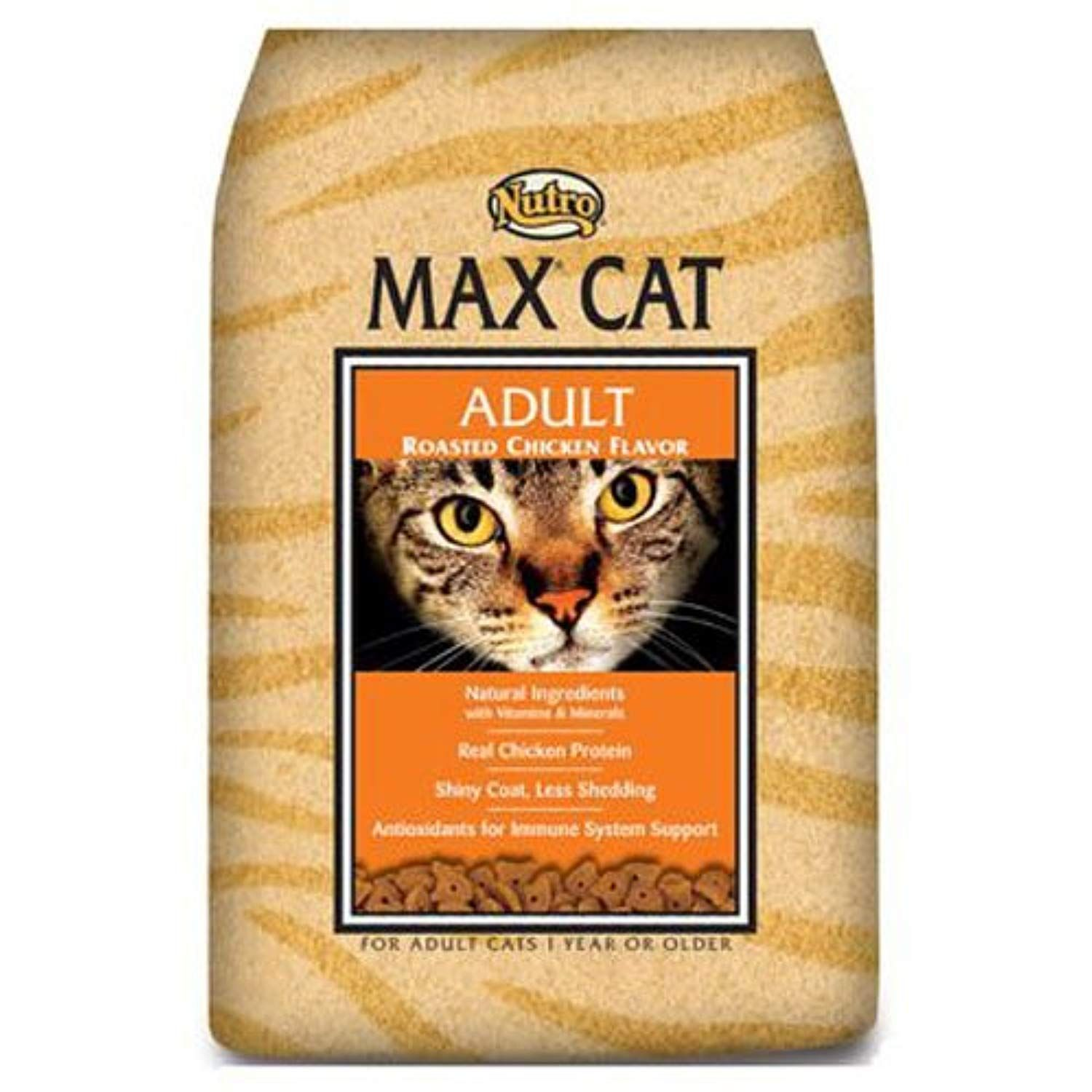 Nutro MAX CAT Adult Dry Cat Food, Roasted Chicken, (1) 6