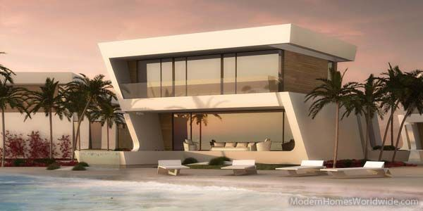 luxury villas on the world architect designed ultra modern homes