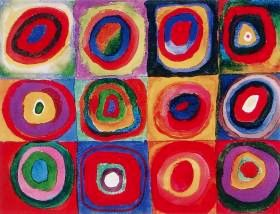 Squares with concentric rings, Wassilly Kandinsky, 1913
