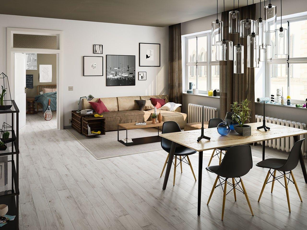 Pavimenti Effetto Legno Bianco : Gres porcellanato effetto legno woodland bianco 15x90 8 mm