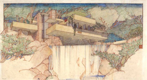 Frank Lloyd Wright Collection Moves to MoMA and Columbia - NYTimes.com