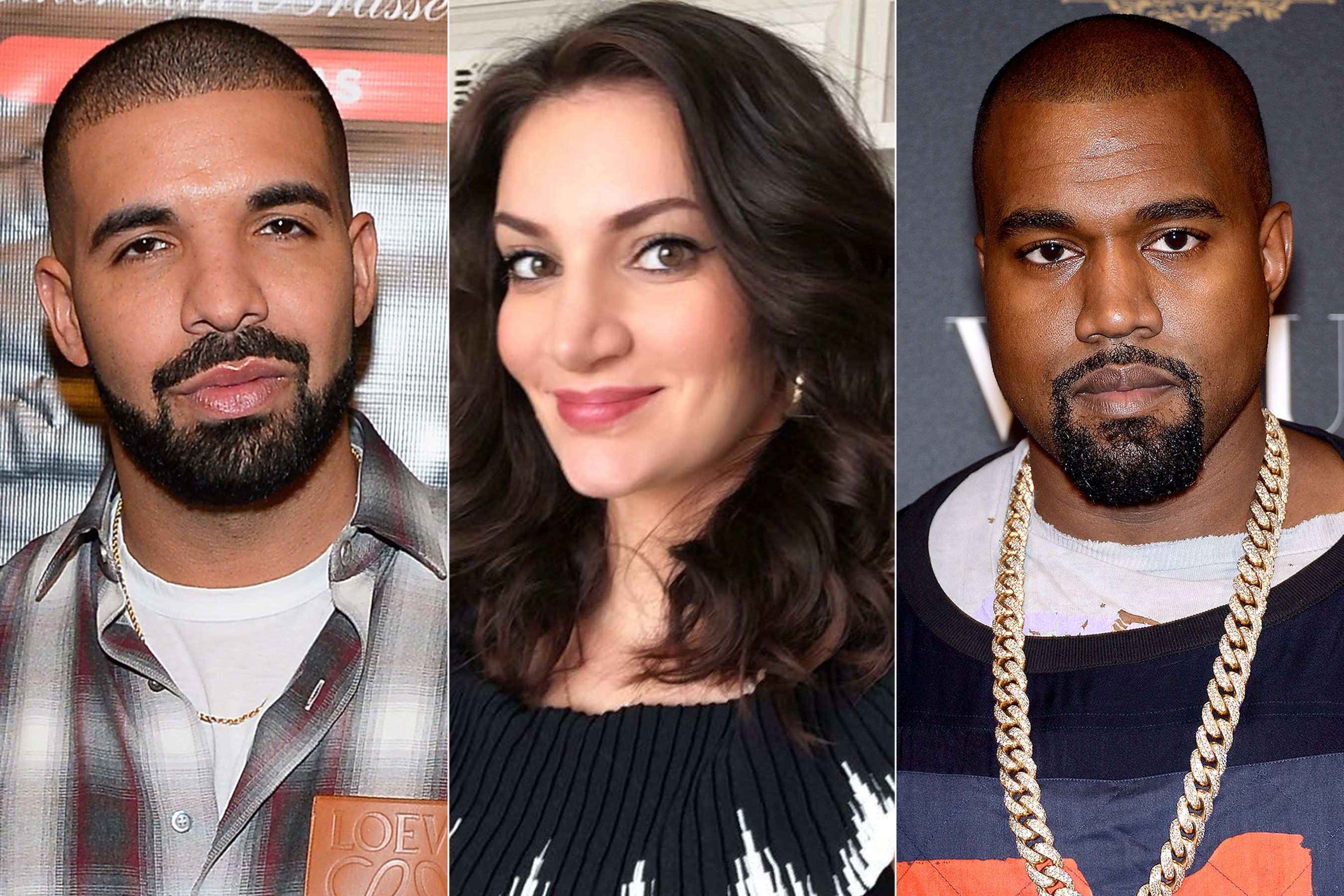 Sophie Brussaux The Mother Of Drake S Child Criticizes Kanye West Amid Rappers Ongoing Feud Kanye West Kanye Drake