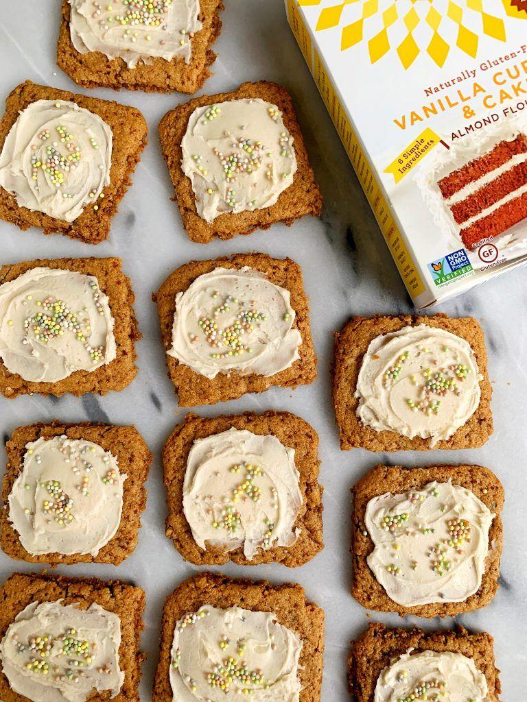 4ingredient glutenfree vanilla cake mix cookies recipe