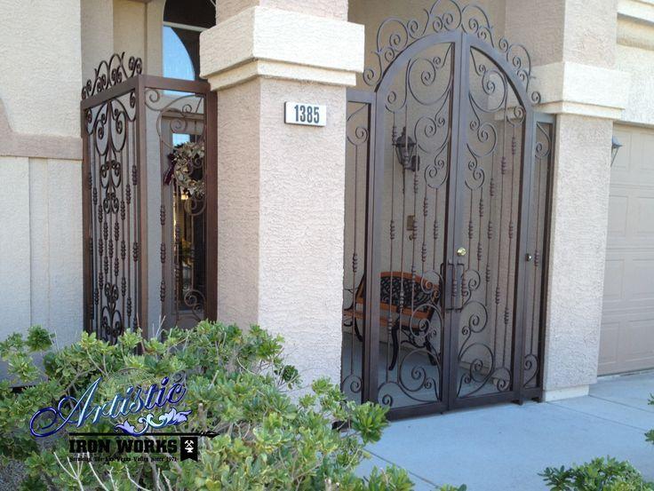 Wrought Iron Porch Enclosures Google Search Wrought Iron Front Door House Gate Design Porch Enclosures