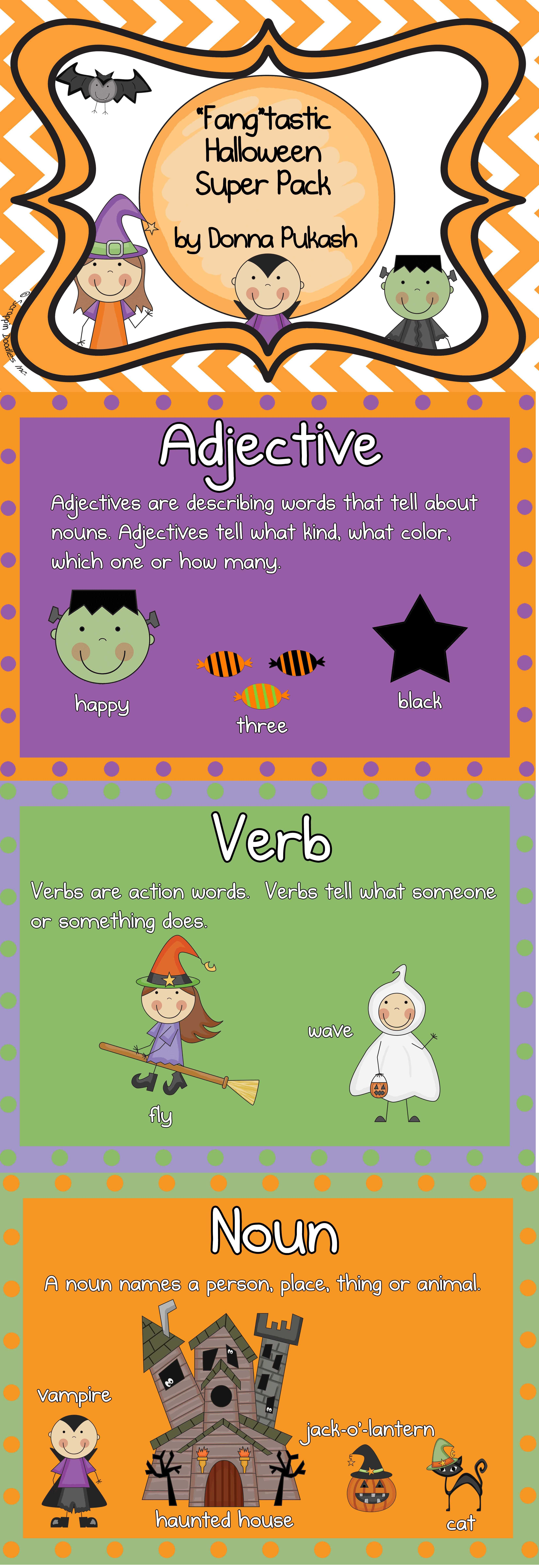 Fang Tastic Halloween Super Pack Reading Writing