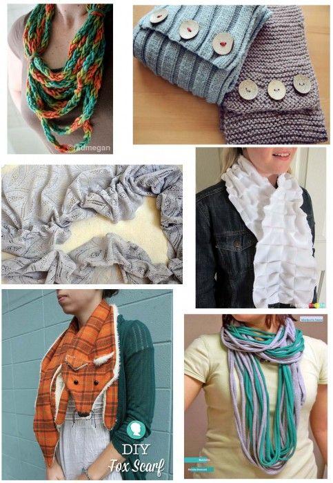 Make your holidays 6 pretty diy scarves the diy adventures diy fashion solutioingenieria Images