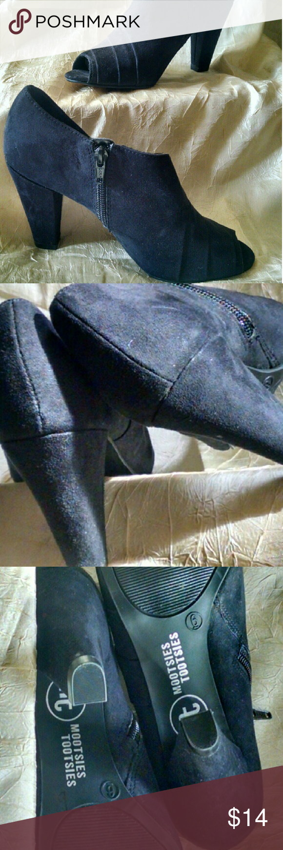Woman's Tootsies Shoes / Heels / Boots size 6 Pre-owned-excellent condition Mootsies Tootsie Shoes Ankle Boots & Booties