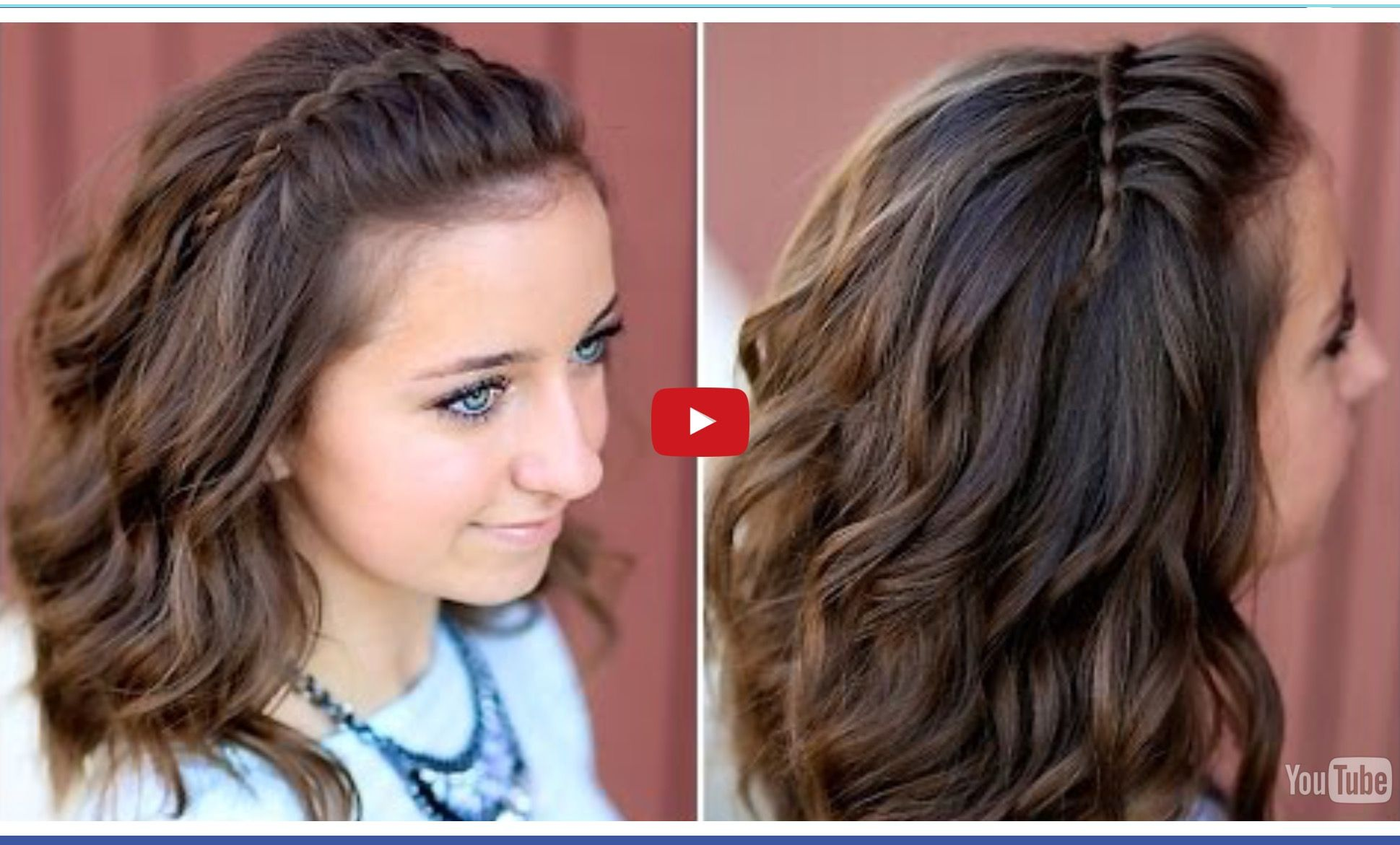 DIY Faux Waterfall Headband