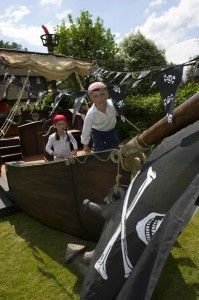 Hire our pirate ship for children's parties and corporate events