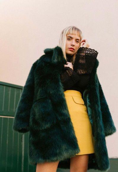 Manteau double femme